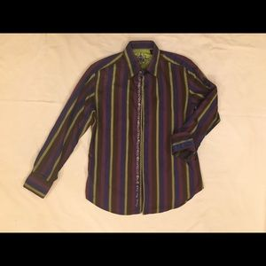 ROBERT GRAHAM Long Sleeve Shirt Size Medium
